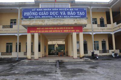Phòng Giáo dục và Đào tạo huyện Ba Tơ